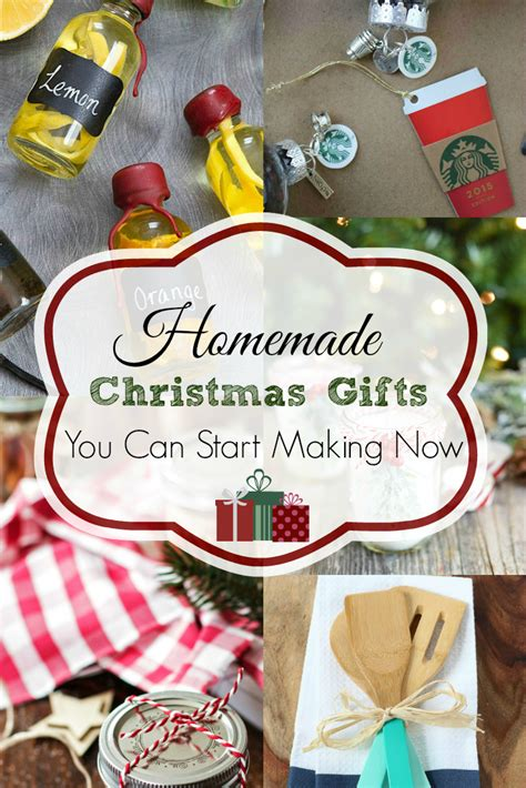 25+ Homemade Christmas Gifts  Retro Housewife Goes Green