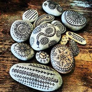 Steine Bemalen DIY Pinterest