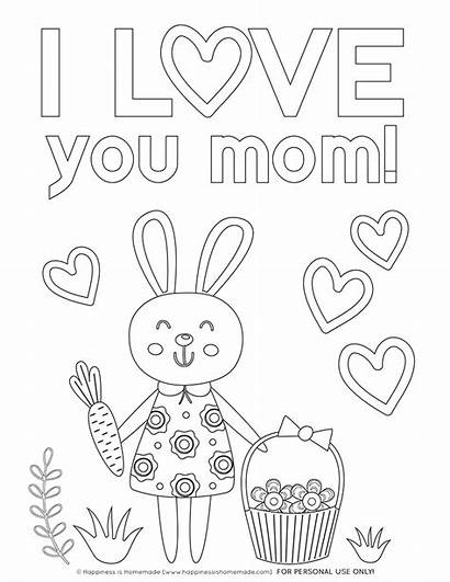 Coloring Mothers Pages Printables Mom Printable Sheets
