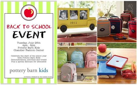Pottery Barn Back To School by Celebrate Back To School With Pottery Barn Chandler