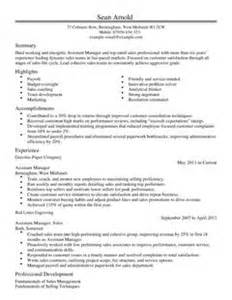 Payroll Assistant Cover Letter Assistant Manager Cv Exle For Sales Livecareer