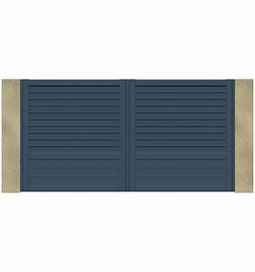 Portail Alu Battant 3m50 : portail alu battant 3m50 portail alu chamuse coulissant ~ Dailycaller-alerts.com Idées de Décoration