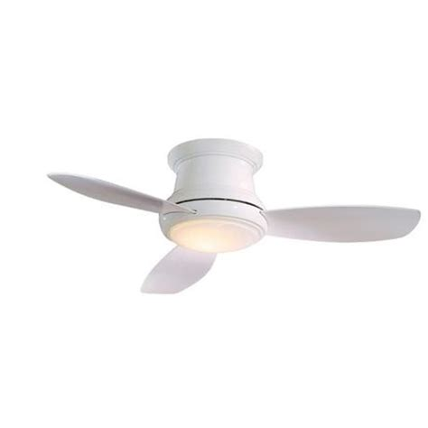 small white ceiling fan 44 quot minka aire concept ii white hugger ceiling fan