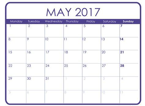 free calendar templates monthly calendar template 2017 word calendar printable free