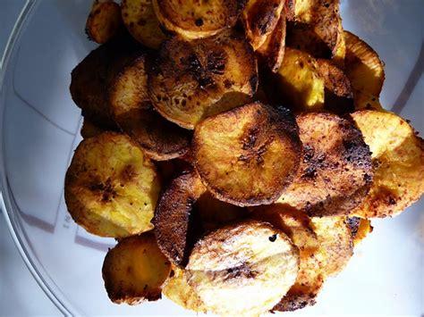 comment cuisiner des bananes plantain chips de banane plantain au piment d 39 espelette sans