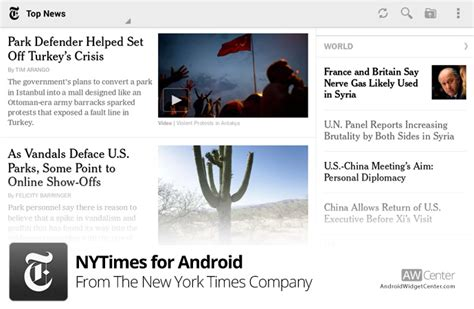 nytimes app for android nytimes android review
