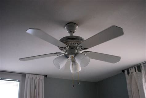 In The Little Yellow House Bedroom Ceiling Fan Upgrade