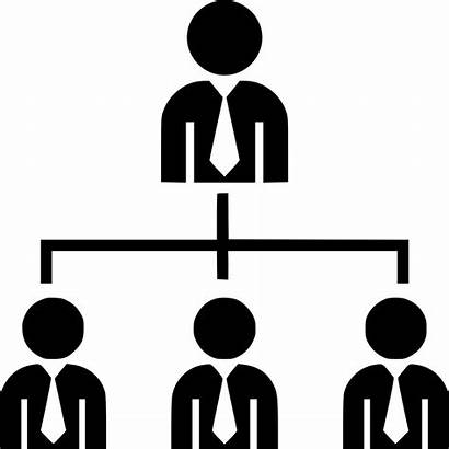 Icon Organization Chart Clipart Transparent Svg Employees