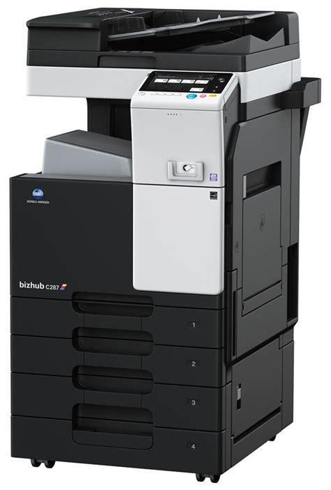 We did not find results for: Bizhub C287 Konika Manolta Drivers / Konica Minolta bizhub C287 Printer   PRE-OWNED   LOW METERS ...