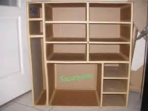 meuble de rangement en carton tout krafte sacartonne With meuble de rangement bricolage