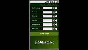 Kredit Hauskauf Rechner : kredit rechner android app demo youtube ~ A.2002-acura-tl-radio.info Haus und Dekorationen