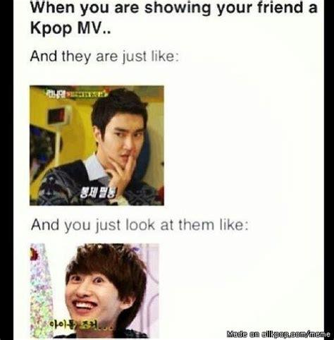 Super Junior Meme - when you show a friend a kpop mv allkpop meme center