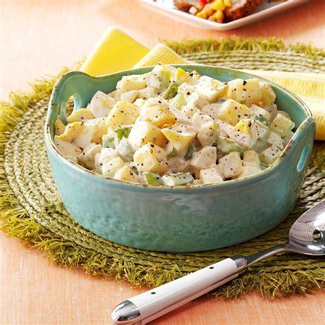 mommas warm potato salad recipe taste  home
