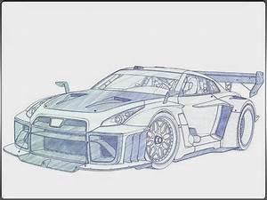 Car Drawings In Pencil Wallpapers (40 Wallpapers ...