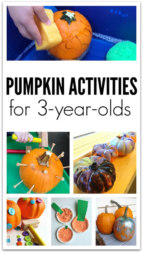 pumpkin crafts and activities for 3 year olds no time 668 | pumpkin crafts and activities for 3 year olds