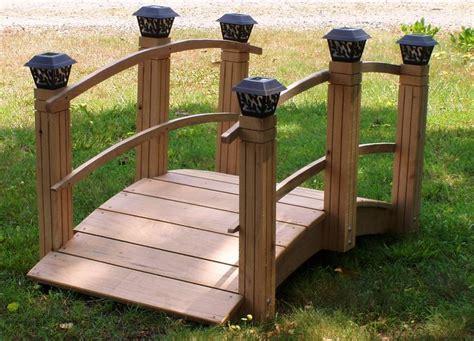 decorative garden bridges sale woodworking projects plans