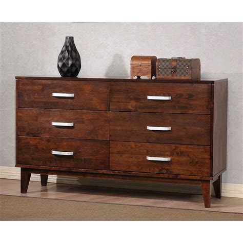 Mens Dressers Furniture by Draper 6 Drawer Dresser Overstock Shopping Great