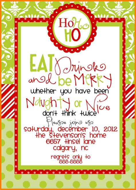 christmas party invitation templates ledger review