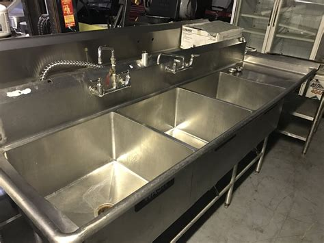 used three compartment sink know about 3 compartment sink the decoras jchansdesigns