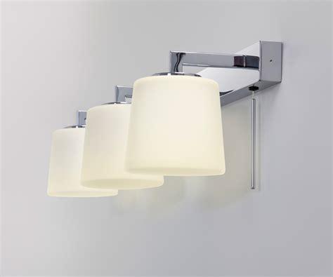 astro triplex bathroom mirror wall light     switch