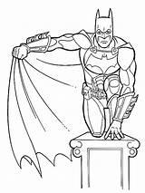 Coloring Pages Children Printable Child Batman Joker sketch template