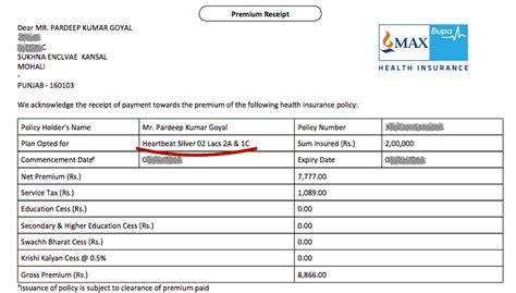 Hdfc life premium paid certificate indicates the total premium (s) paid during a specific year. canonprintermx410: 25 Unique Health Insurance Premium ...