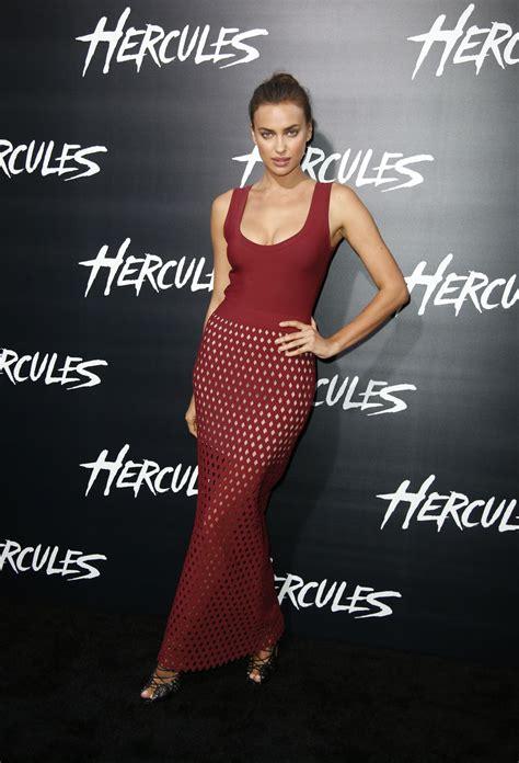 Irina Shayk – 'Hercules' Premiere in Los Angeles • CelebMafia