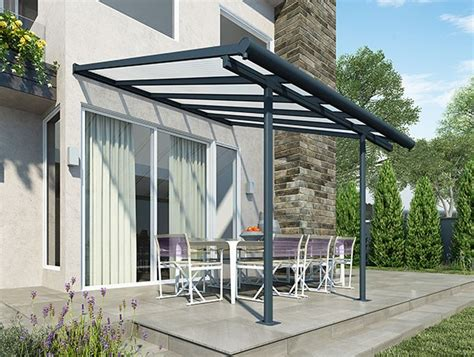 Palram Patio Cover 3x3 by Palram Patio Cover 3m X 6 10m Grey Palram Patio