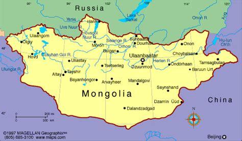 mongolia map political regional maps  asia regional