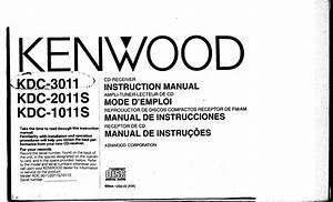 Kenwood Kdc 1011s Wiring Diagram