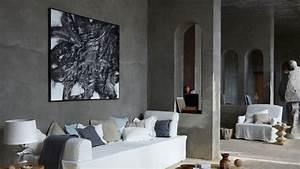 comment decorer le mur au dessus du canape With tapis jonc de mer avec grand canapé 10 places
