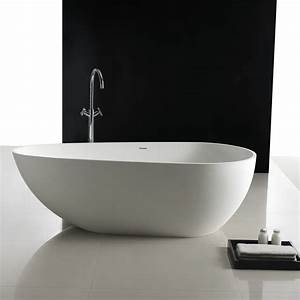 Halb Freistehende Badewanne : freistehende badewanne park 170 cm mineralguss badewannen ~ Frokenaadalensverden.com Haus und Dekorationen