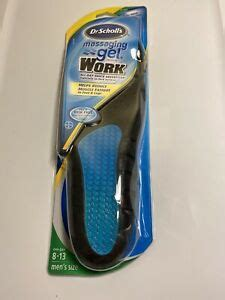 Free shipping both ways on dr scholls advance comfort series from our vast selection of styles. Dr Scholl's Men's Size 8-13 Massaging Gel Insoles Work ...