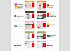 Calendario escolar 20162017 en Granada fiestas, puentes