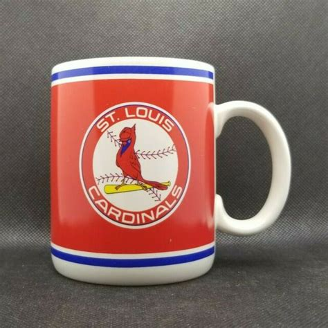Coffee cup stores & openning hours in st paul. Vintage St. Louis Cardinals Baseball Coffee Tea Mug Cup, by Papel EUC | eBay