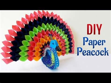 diy paper craft projects    multicolored paper