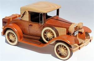 A woodworking plan for building the classic 1930 Ford ...
