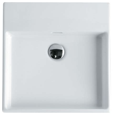 drop in bathroom sink without faucet holes unlimited 46 wall mount sink 18 3 quot contemporary