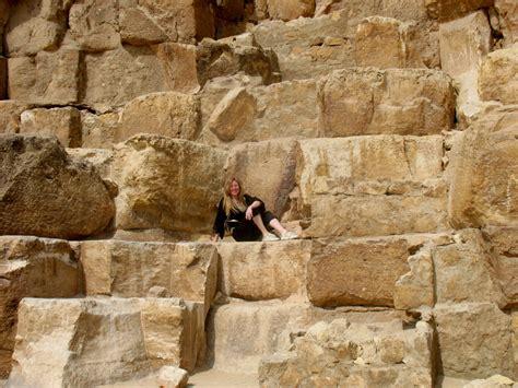 Interno Piramide Cheope Il Cairo Dalle Piramidi Di Giza Ad Abu Simbel Il