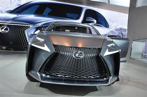 2013 Lexus Lf-nx Turbo Concept Review