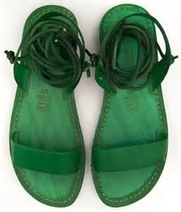 Pinterest Green Sandals