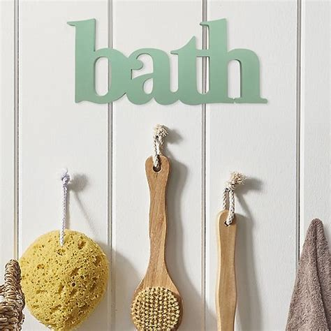 """A part of hearst digital media elle decor participates in various affiliate marketing programs, which means we may get paid commissions on. Stratton Home Decor """"Bath"""" Wall Decor"""