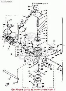Yamaha Xs750-227501 1978 Usa Carburetor