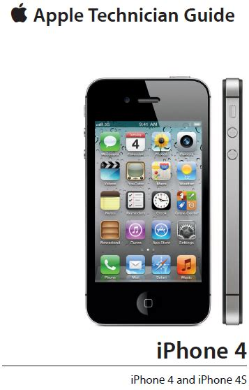 iphone 4s manual leaked apple s official technician guide for the