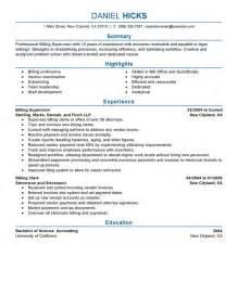 resume skills for accounting jobs best legal billing clerk resume exle livecareer