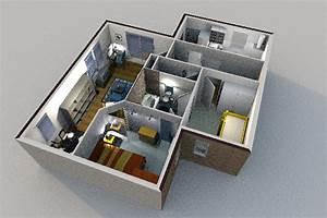un modelisation maison 3d gratuit l39impression 3d With meuble pour sweet home 3d