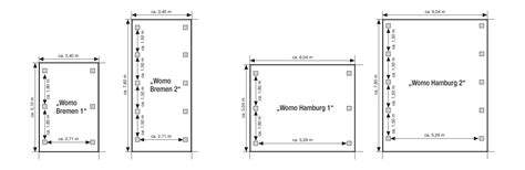 Wohnmobildoppelcarport Womohamburg 2 (604 X 760 X 306 Cm