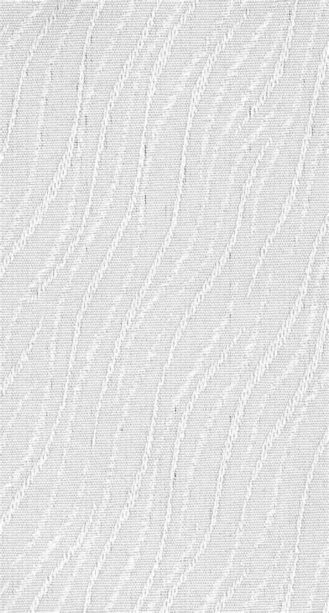 Vertical Blind Fabric Slat in Portland White