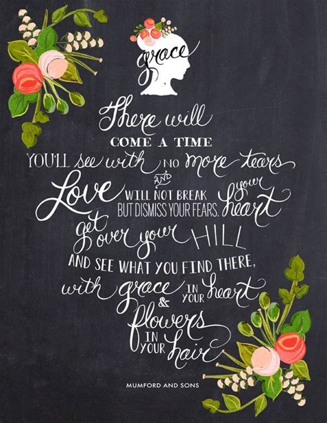 mumford and sons quotes flowers in your hair mumford and sons quotes quotesgram