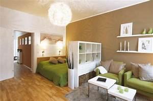 Wohn Schlafzimmer Einrichten : wohn und schlafzimmer in einem raum einrichten wohndesign ~ Sanjose-hotels-ca.com Haus und Dekorationen